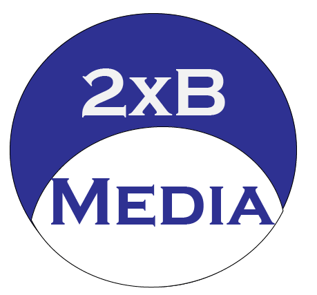 Logo   2XB Media Productions   Boerne Texas   Cutting Edge Media   Photographer   Videographer   Veteran-Owned Small Business   San Antonio Texas   Texas Hill Country   Media Company   Marketing   Promotions   Events   Photo   Video   360-Degree Photo, Illustrations, & Video   Google Earth Flyovers   2XB Books   Modern Interactive E-Books   Metadata Tagging