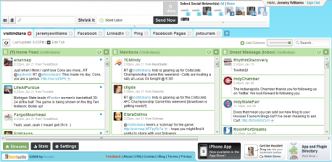 hootsuite-interface