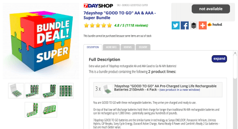 7dayshop__GOOD_TO_GO__AA___AAA_-_Super_Bundle_-_Rechargeable_Batteries_-_Batteries__Power___Chargers