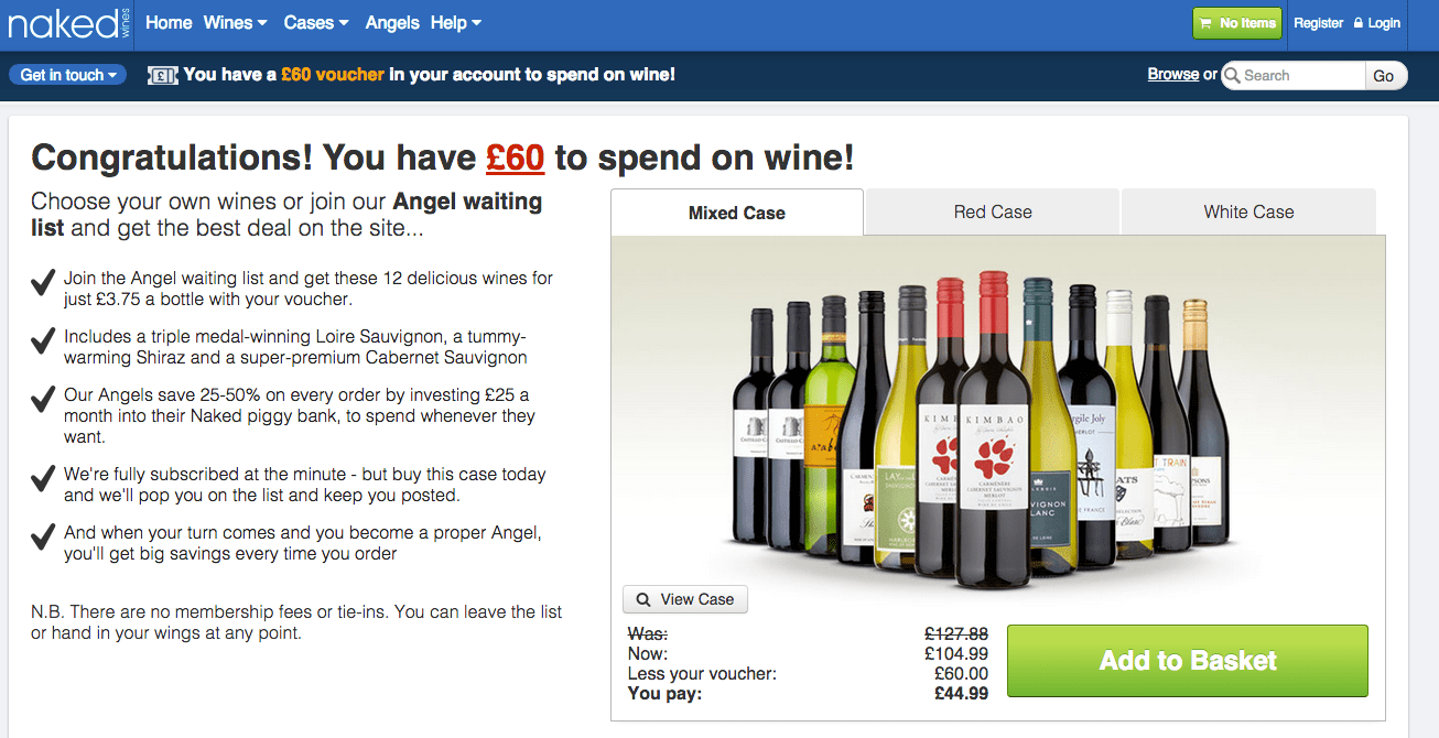 Naked Wines sees monthly subscription customer numbers