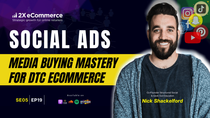 Scale a D2C eCommerce Acquisition with Social Ads (NOT VC or PE Funding)