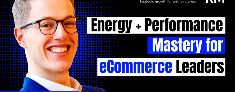 How To Consistently Master Energy & Performance as An (e-Com) Business Owner Without Burning Out w/ Killian Markert