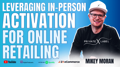 How Mikey Moran Leveraged Showrooms to Drive Online LTV for Private Label Extensions