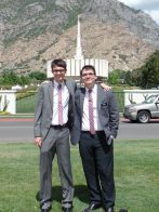 Elder Walker and Elder Ellinghaus
