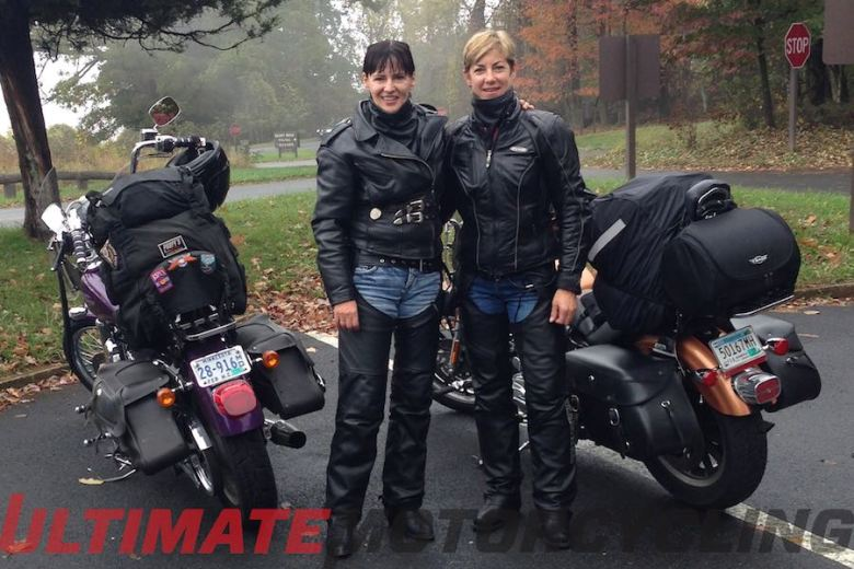 "Two Women, 10 Days, One Foggy Memory East Coast Motorcycle Trip Further Unites Two ""Sisters"""