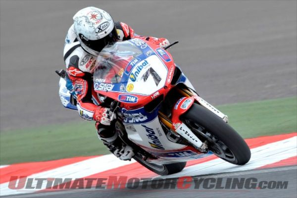 Moscow SBK: Ducati Riders Lead Friday