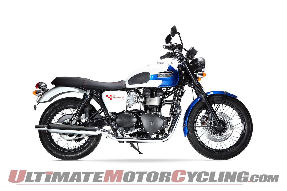Triumph Bonneville T214 Land Speed Limited Edition First Look