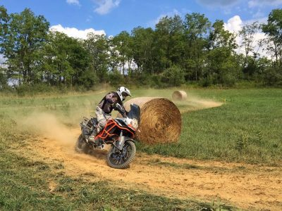 Jimmy Lewis on KTM 1190 at Touratech Rally
