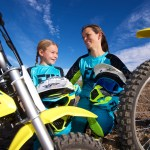 Mother Daughter And Dirt Bikes Family Off Road Riding