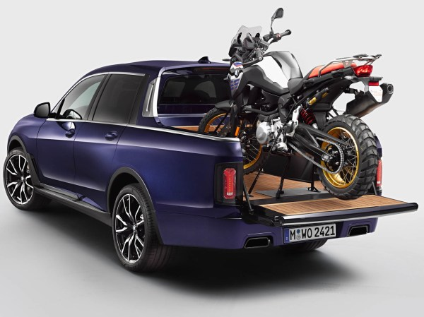 BMW X7 Pick-up Truck First Look: Motorcycle Hauler