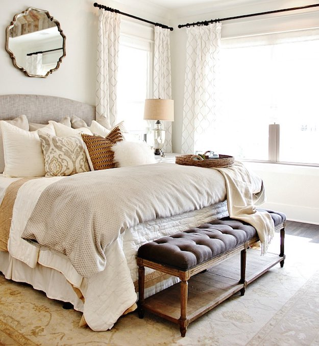 Bedroom Curtain Ideas: 15 Ways To Decorate With Curtains on Bedroom Curtain Ideas  id=19649