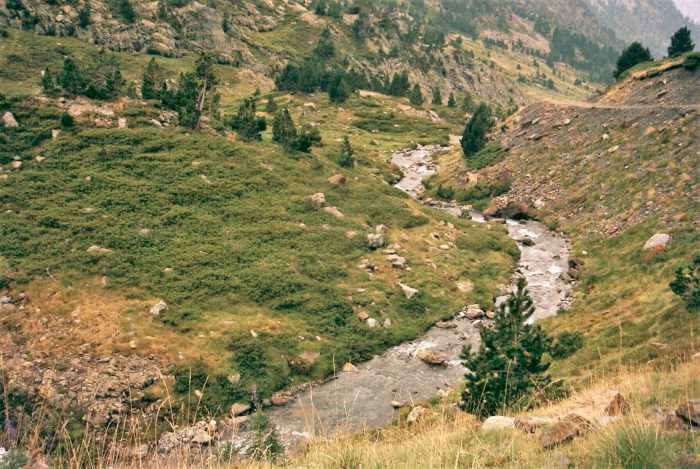 Bajando del Lago de Ordiceto