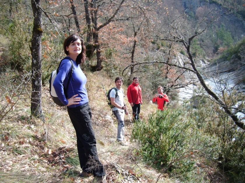 Algunos de los expedicionarios