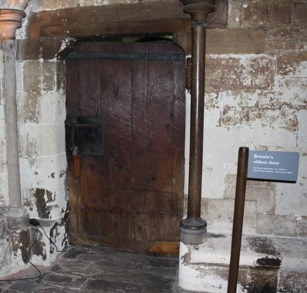 La puerta más antigua de Gran Bretaña