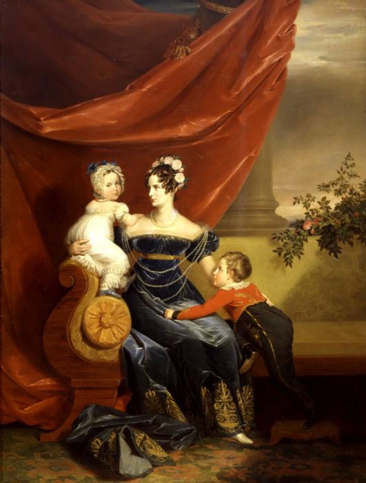 Императрица Александра Федоровна с детьми./Фото: artchive.ru
