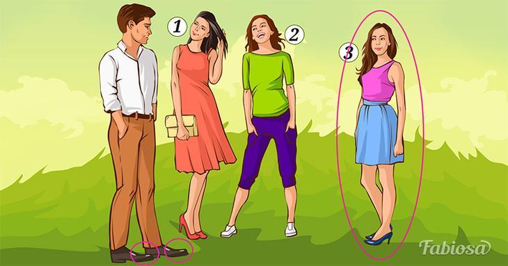 Логическая загадка: угадайте, какая из трех женщин больше нравится мужчине