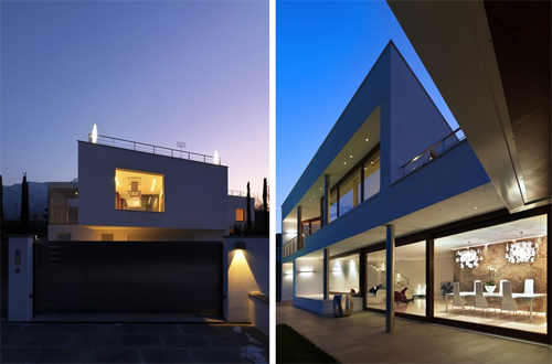 B House in Italy by Damilano Studio in architecture  Category