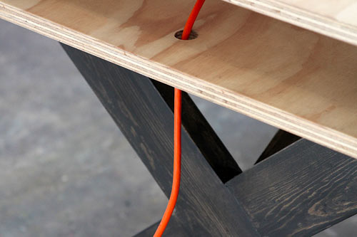 Perfect for Coworking: Work Table 002 by Miguel de la Garza in home furnishings Category