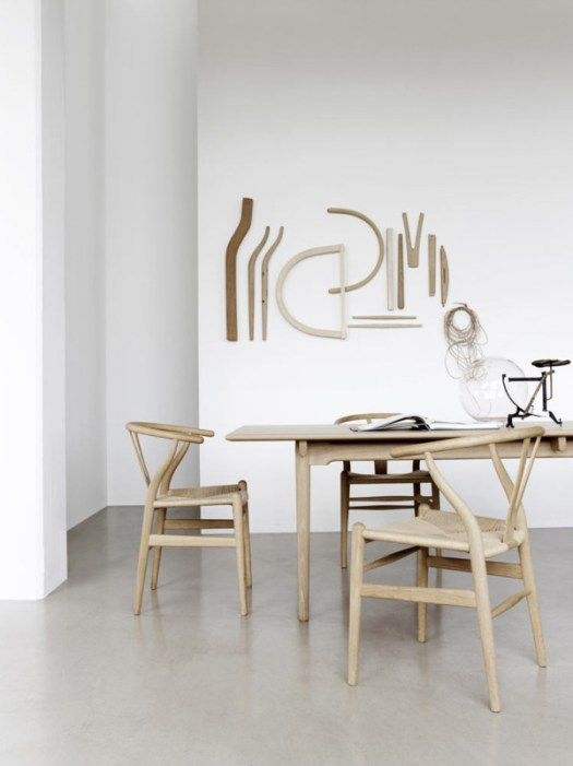 Wishbone Chair by Hans J. Wegner for Carl Hansen & Søn in home furnishings Category
