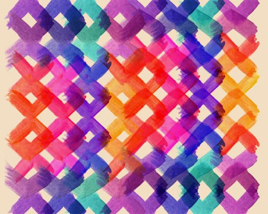 Fresh From The Dairy: Watercolor Patterns