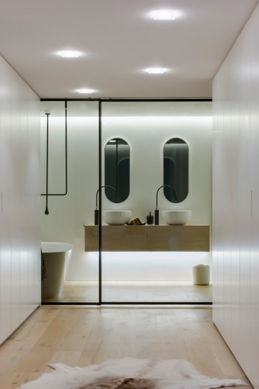 A Fresh & Modern Bathroom Youll Never Want To Leave in interior design architecture Category