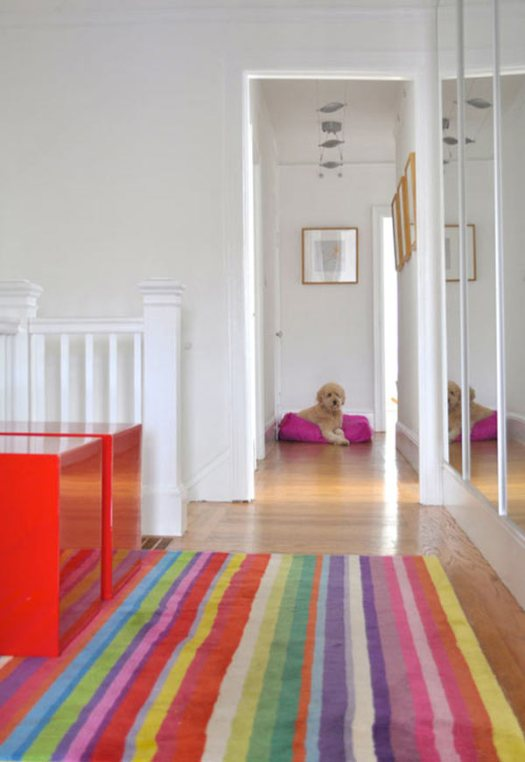 18 Rooms with Colorful Rugs in interior design home furnishings Category