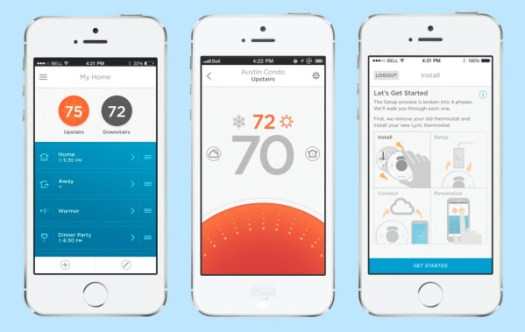 Honeywell Lyric Thermostat Turns Up the Heat in technology Category
