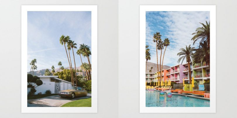 Snapshots of Palm Springs from Society6