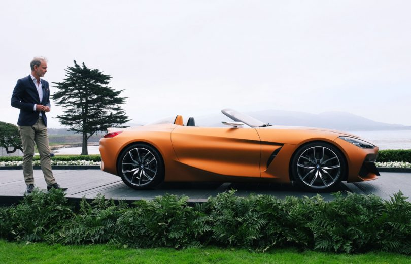 BMW Rolls Into the 2017 Pebble Beach Concours d'Elegance With the New Concept Z4
