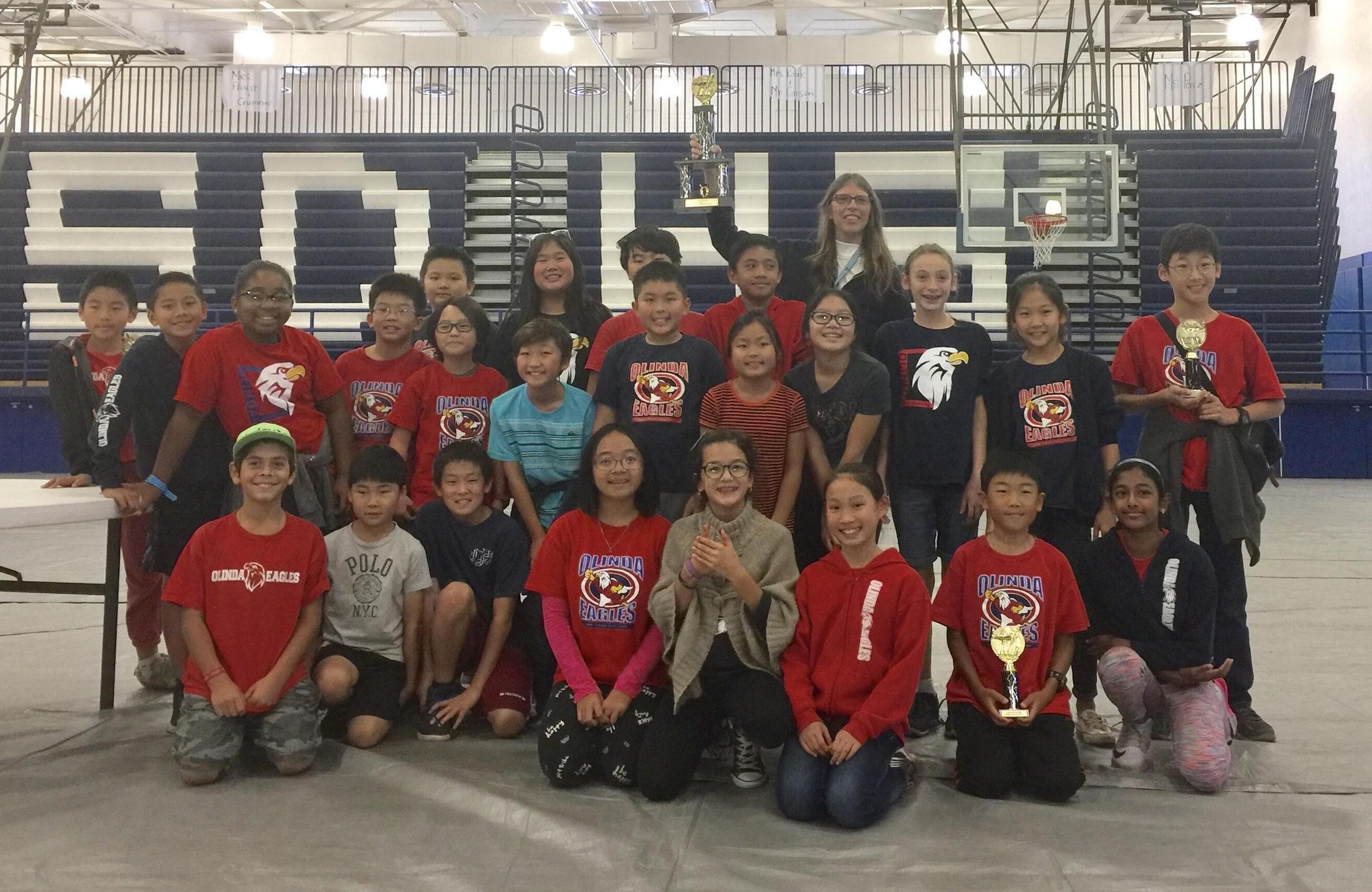 Mathleague Jill Berrner Olinda Elementary School