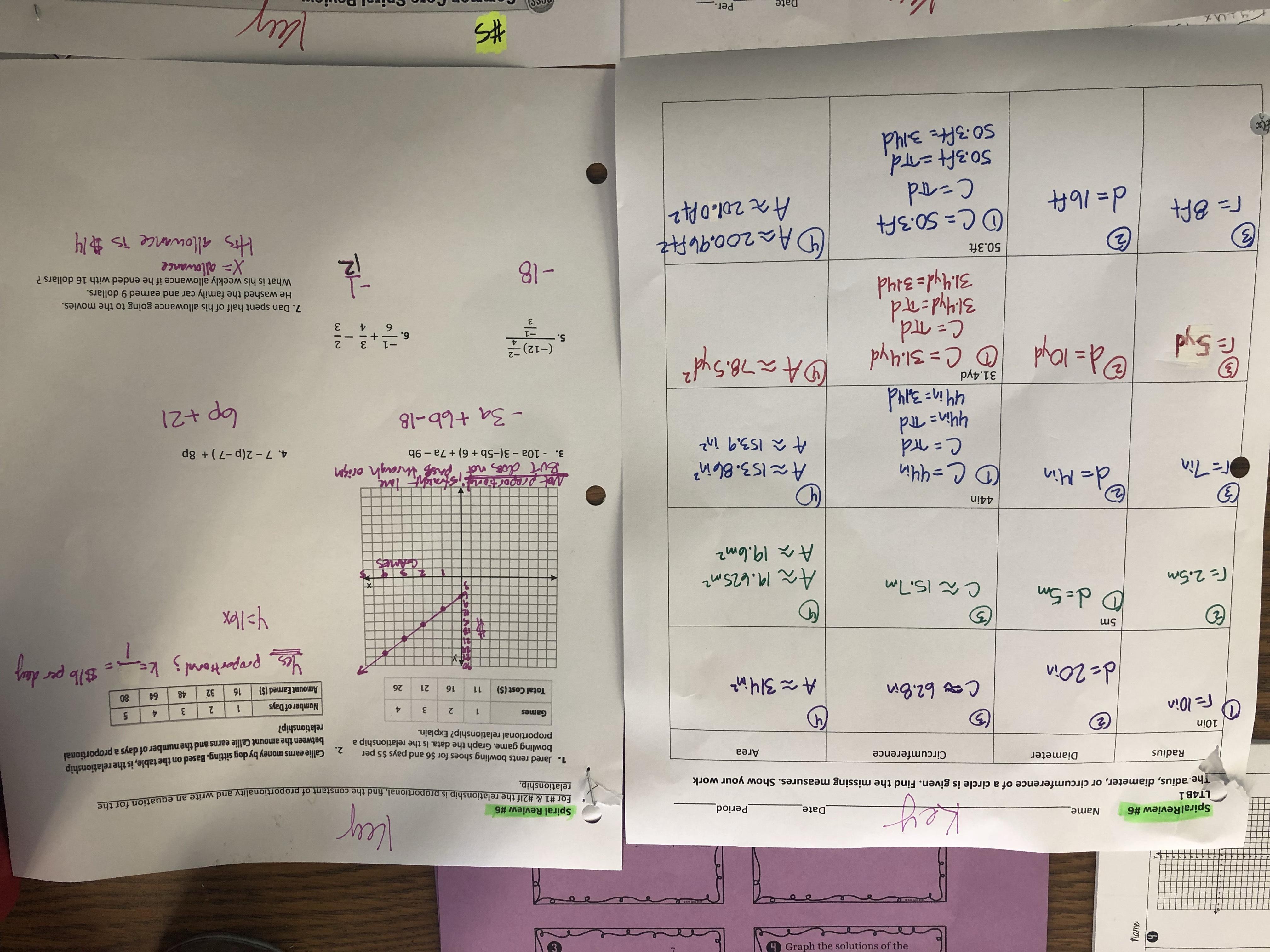 Proportional Relationship Worksheets 7th Grade