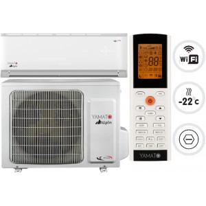 Yamato Alpin YW09IG5  Model 2020, 9000 BTU, Clasa A++/A+,Wi-Fi, Inverter + Generator Cold Plasma, Kit instalare inclus