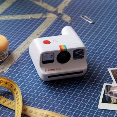 The Polaroid Go is a compact, modern tribute to the original Polaroid One Step