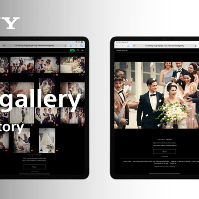 Sony adds AI-powered 'Live Gallery' feature to its Visual Story mobile app