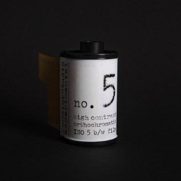 Film Fridays: New film alert – No Color Studio launches ISO 5 B&W film