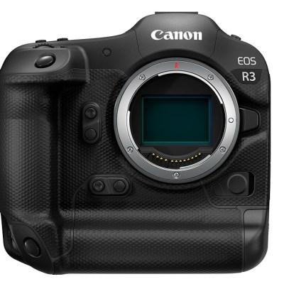 Canon EOS R3 development announced: high-end full-frame mirrorless