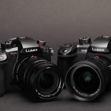 Panasonic Lumix DC-GH5 II added to studio test scene