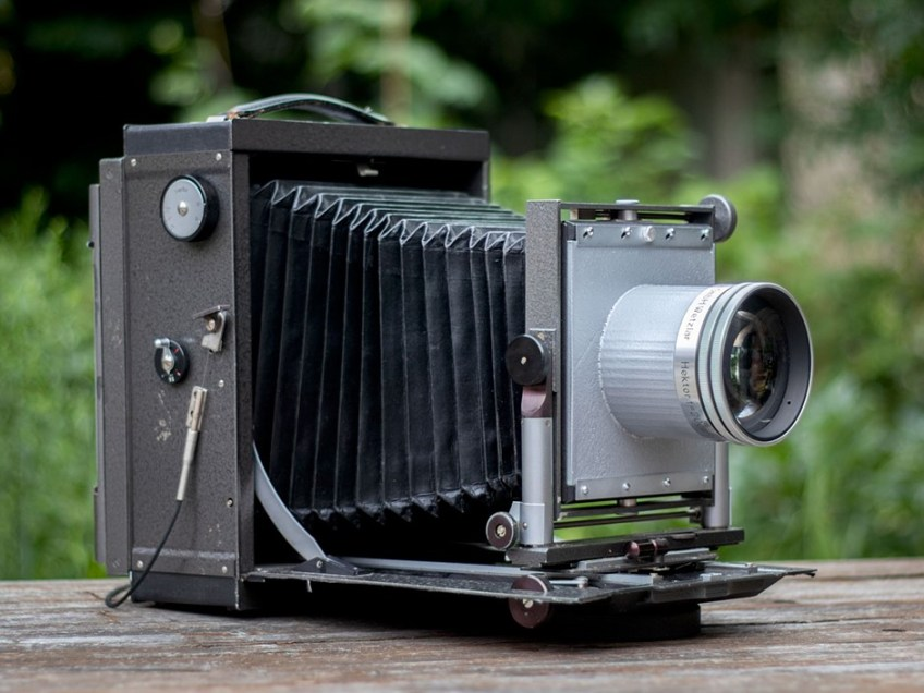 Video: Shooting wet plate portraits with affordable large format camera equipment
