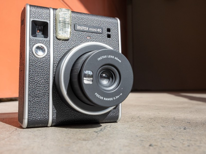Hands-on with the new retro-chic Fujifilm Instax Mini 40