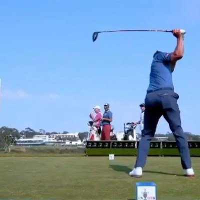 A tee box at this year's US Open used 88 cameras to deliver 'bullet-time' replays
