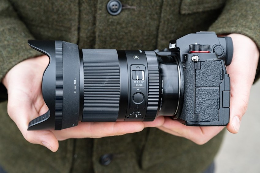 Hands-on with new Sigma 35mm F1.4 DG DN 'Art'