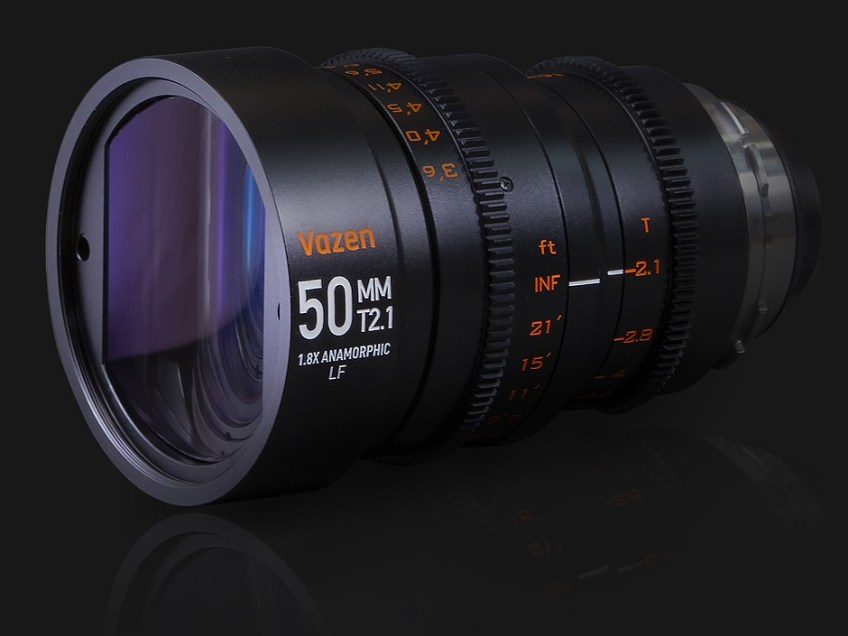 Wide angle 1.8x anamorphic lens for full frame sensors launched by Vazen