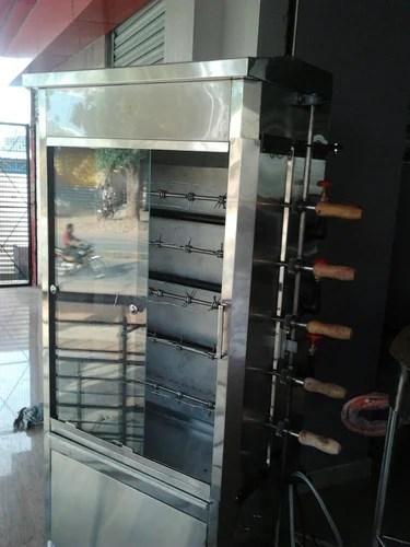 Commercial Kitchen Equipment Chicken Grill Machine Manufacturer From Bengaluru