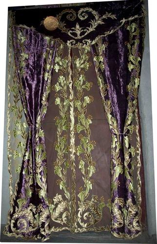Velvet Curtains Net Velvet Curtains Exporter From