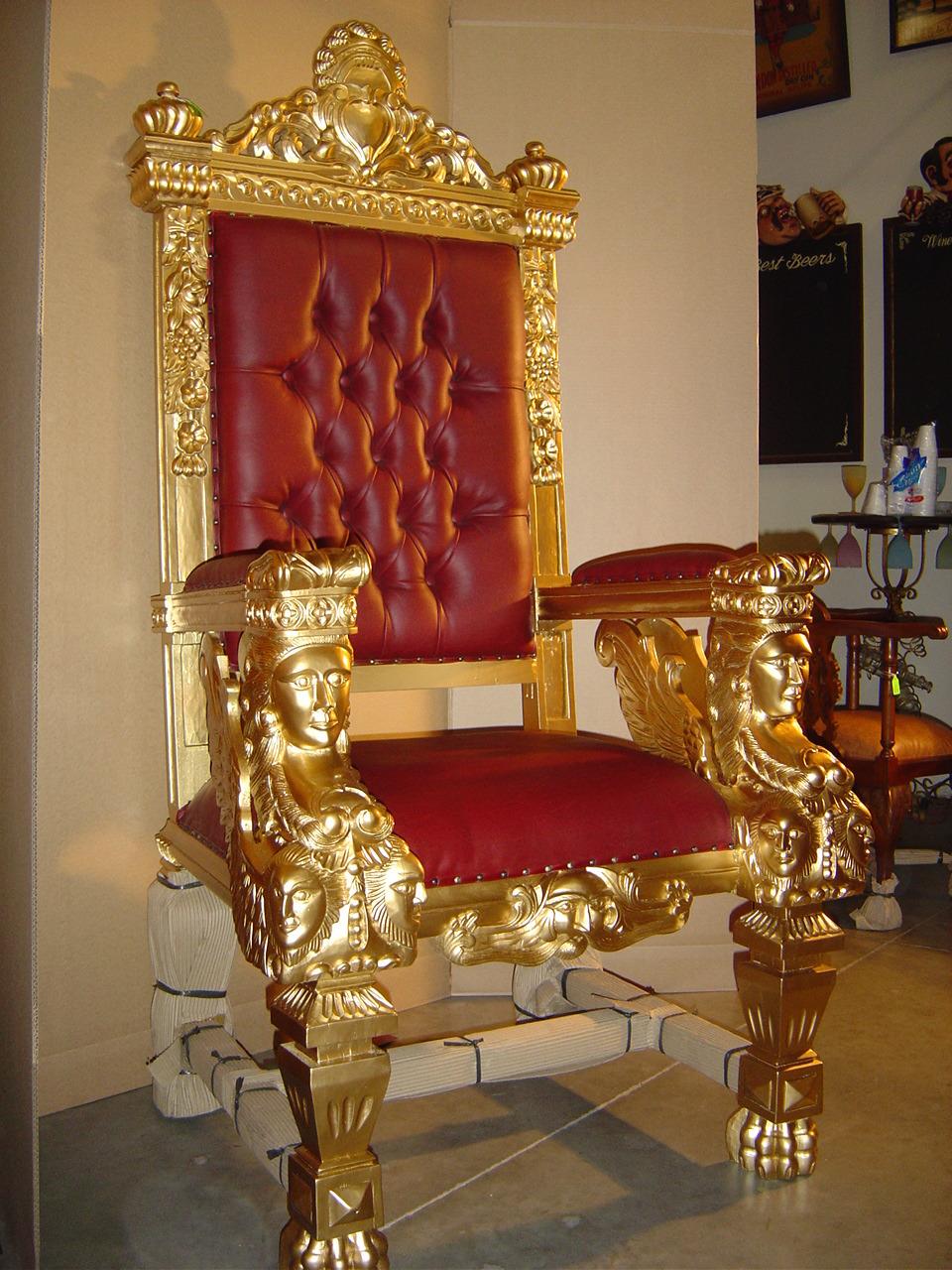 Big Chairs Living Room