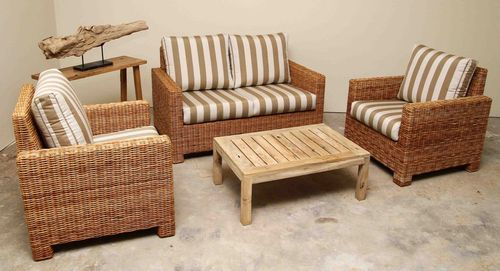 It is threaded through individual holes in the frame and woven in strand by strand. Cane Furniture - Cane Sofa Manufacturer from Gurgaon
