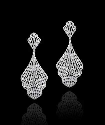 Diamond Earrings Exclusive Diamond Earrings Manufacturer
