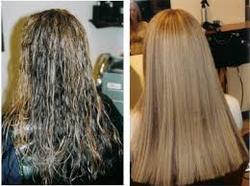 Hair Perming And Straightening