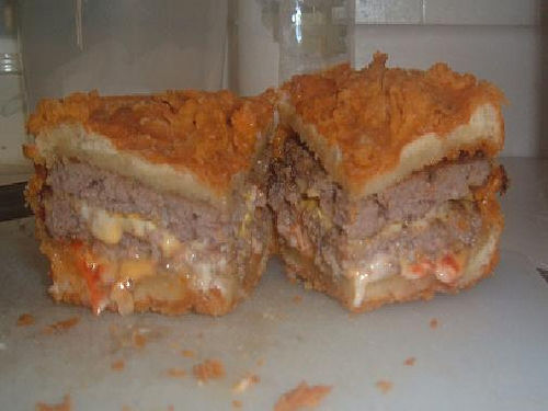 Deep Fried Jack-in-the-Box Ultimate Cheeseburger (submitted by Long via flickr)