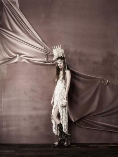 Alla Kostromicheva by Kevin Macintosh for 125 Magazine #13 Luxury